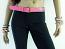 Pink Belt with Flower Pattern