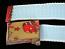 Webbing belt,baby blue with cartoon buckle