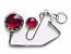 Handbag Hook & Key set - Amber