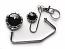 Handbag Hook & Key set - Clear