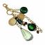 Swarovski Crystal Charm-Green