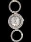 Circle Rhinestones Style Watch