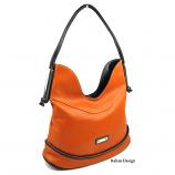 Orange Divider Handbag - SOLD OUT