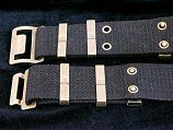 Black Belt with eyelets style