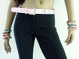 Pink Studded Belt