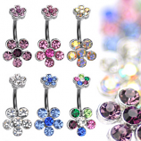 Navel 6 Gem Flower