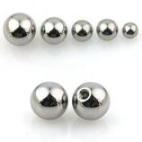 Threaded Balls Spare 14GA-3mm ball.