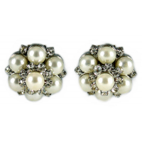 Pearls Shoe Clips